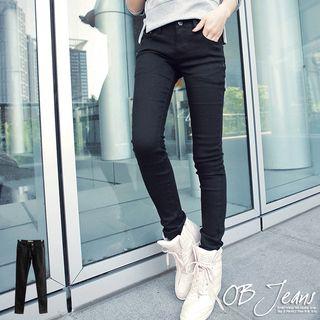 Slim-fit   Skinny   Black   Jean