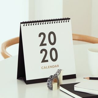 Calendar   Square   Desk   2020   Size   One