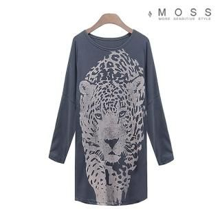 Buy MOSS Long-Sleeve Printed Long Top 1023067185
