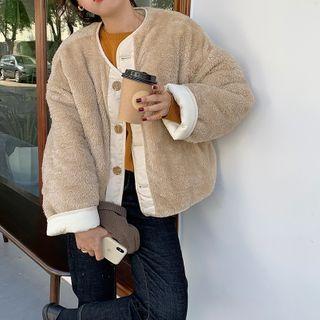 Fleece | Jacket | White | Size | Pad | One