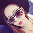 Rectangular Sunglasses A2-5084 - Lenses - Gray / Frame - Leopard - One Size от YesStyle.com INT