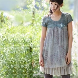 Buy Sunbijou Short Sleeve Chiffon Dress 1020259977