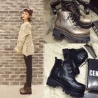 Block Heel Lace Up Short Boots от YesStyle.com INT