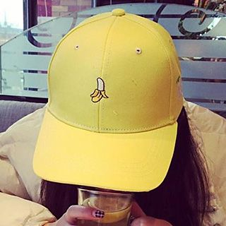 Fruit Embroidered Cap 1048845948