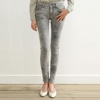 Buy iEva Washed Skinny Pants 1022512294