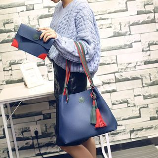 Faux Leather Tote Bag 1061188989