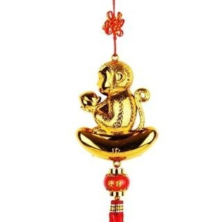 Monkey Lunar New Year Hanging Ornament