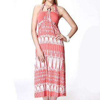 Set: Patterned Bikini + Sundress 1045378457