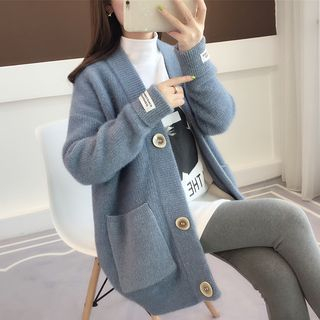 Image of Letter Tag Cardigan