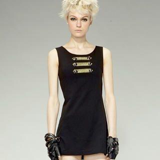 Buy tictak Sleeveless Military Dress 1023062526
