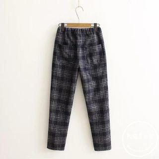 Plaid Harem Pants 1057495017