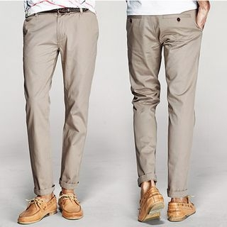 Straight Fit Pants 1050780438