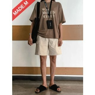 Cargo-Pocket Cotton Shorts 1060791905