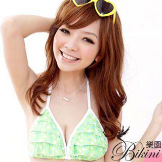 Buy BiKiNi Wonderland Set: Bikini + Miniskirt Green-One Size 1022804360