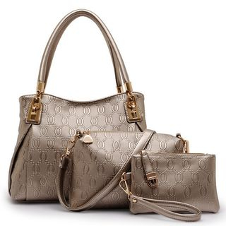 Set of 3: Tote + Crossbody Bag + Wristlet 1052826944