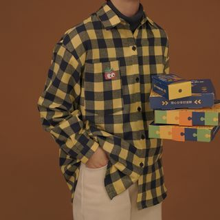 Jacket   Plaid   Shirt