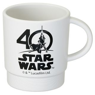 Star Wars 40th Stacking Plastic Cup (White) 1060109092