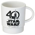 Star Wars 40th Stacking Plastic Cup (White) 1596