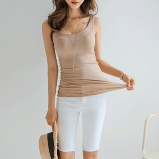 Slim-Fit Ribbed Tank Top 1060424778