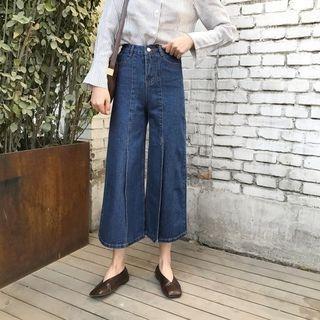Slit Capri Jeans 1058501062