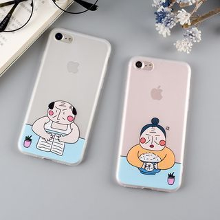 Image of Cartoon Mobile Case - iPhone 7 / 7 Plus / 6s / 6s Plus / 5s