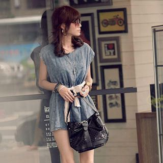 Buy PUFFY Denim Tee-Shirt Dress 1022849932