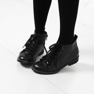Picture of KENZI Lace-Up Ankle Boots 1023046175 (Boots, KENZI Shoes, Korea Shoes, Womens Shoes, Womens Boots)