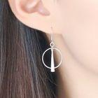 Metallic Drop Earring 1596