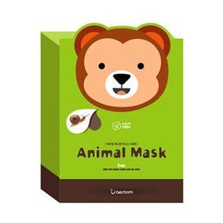 Image of Berrisom - Animal Mask Set (10pcs) Monkey 10pcs