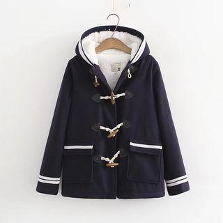 Image of Hooded Duffle Coat