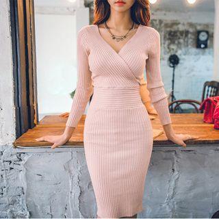Rib Knit Dress 1058490864