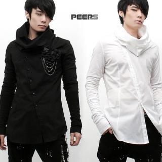 Picture of Peeps Turtleneck Shirt 1022742163 (Peeps, Mens Suits, Korea)