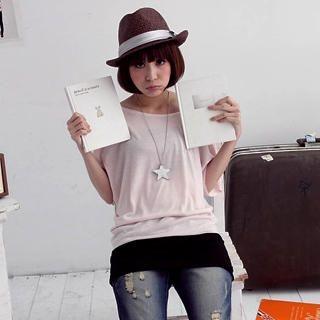 Buy VeJanie Off-Shoulder Color-Block Dress 1022763577