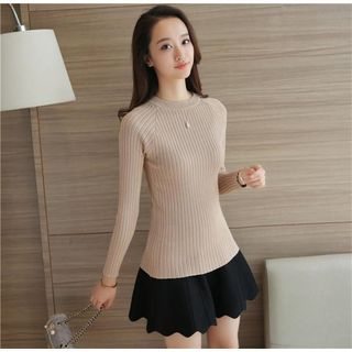 Ribbed Knit Top 1055525535