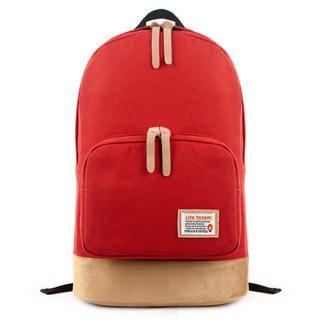 Appliqué Panel Canvas Backpack