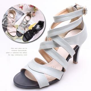 Buy Woorisin Cross Strap Sandals 1022548806