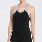 Contrast Trim Quick-Dry Padded Tank Top 1596