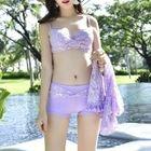 Set: Lace Cover-Up + Bikini 1596
