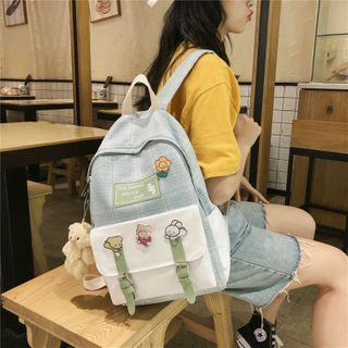 Backpack   Canvas   Plaid