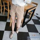 Lace Trim Waistband Shorts 1596