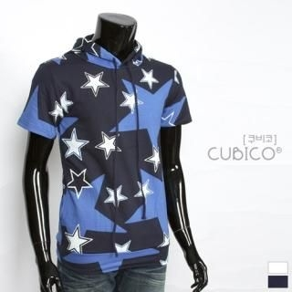 Buy CUBICO Short-Sleeve Printed Pullover 1022772737