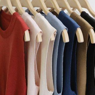 Sleeveless Knit Top 1066337942
