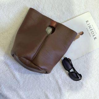 Handbag   Leather   Bucket   Faux