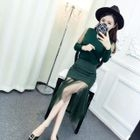 Set: Tulle Panel Top + Pencil Skirt 1596