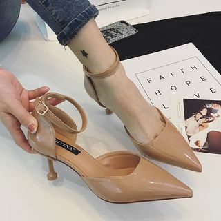Ankle Strap Pointed Pumps 1064950222