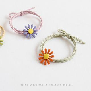 Image of Alloy Daisy Hair Tie