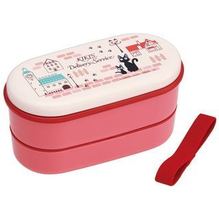 Kikis Delivery Service Oval 2 Layer Lunch Box (Machi) (with Chopsticks) 1055271277