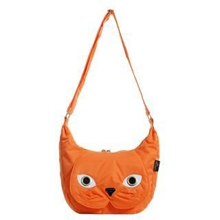 Buy Morn Creations Cat Shoulder Bag (OR – M) Orange – M Size 1011631216