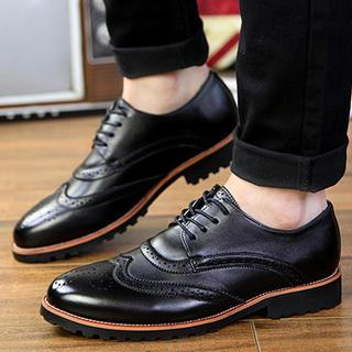 Perforated Wingtip Oxfords