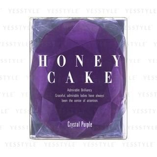 Honey Cake Translucent Soap Crystal Purple